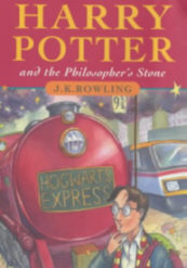 Book Jacket from Harry Potter and the Philopsopher's Stone
