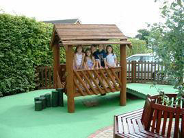 Picture of St Mark's all weather playground