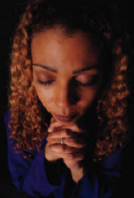 Picture of woman praying